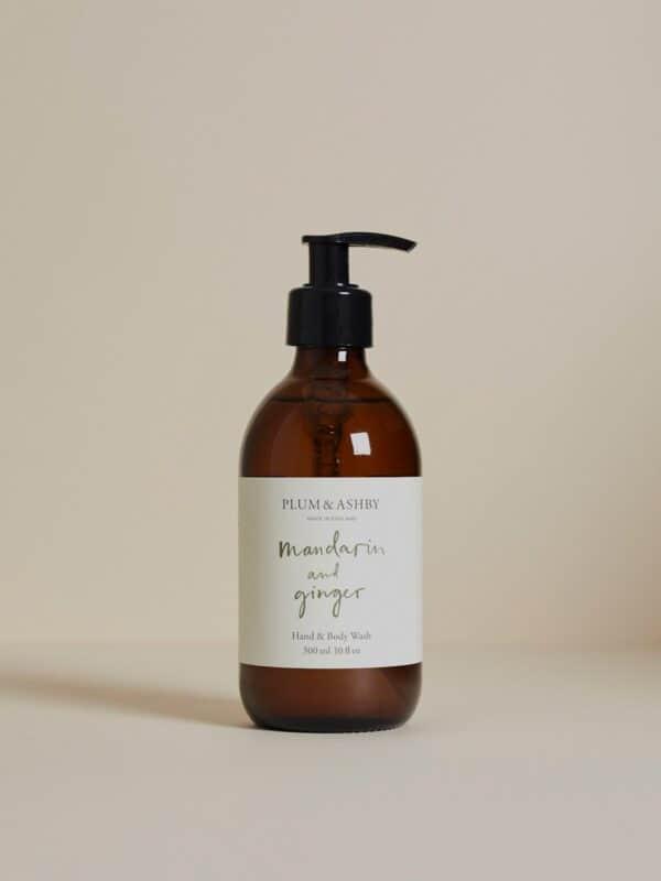 Mandarin & Ginger Hand & Body Wash by Plum & Ashby