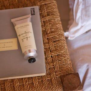 Mandarin & Ginger Hand Cream Tube by Plum & Ashby